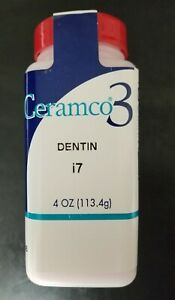Ceramco 3 Porcelain 4 Oz Dentin I7 New Dental Lab Dentsply Made In Usa
