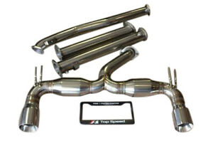 Fits Mitsubishi Lancer Evolution 10 Evo x 08 15 Top Speed Pro 1 Exhaust System