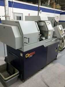 3 4 1998 Citizen L20vii Cnc Swiss Lathe C axis Live Tool Sub Spindle