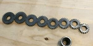 Nice Original South Bend Heavy 10 Lathe Quick Change Gear Box Gears