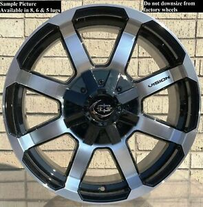 4 Wheels For 17 Inch Dodge Ram 1500 2007 2008 2009 2010 2011 2012 Rims 1824