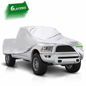 Tonbux Truck Cover 6 Layers Waterproof All Weather Car Covers With Cotton