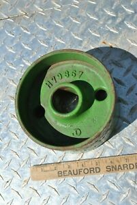 Nos John Deere Implement Tractor Hit Miss Gas Engine Cast Iron Belt Pulley