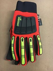 Majestic Knucklehead X10 Thinsulate Work Gloves Tough Synthetic Leather Medium