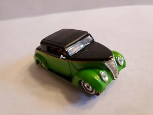 Rrr 37 Ford Hot Rod Newer Aurora Chassis New Rims And Tires tjet Ho Slot