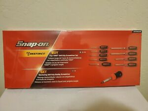 Snap On Tools Torx Screwdriver Set With Stubby Ratcheting Screwdriver Color red