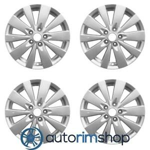 Hyundai Sonata 2009 2010 17 Oem Wheels Rims Full Set W out Tpms Slot