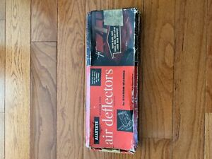 Nos Stainless Vintage Wagon Air Deflectors