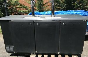 Beverage Air Dd 78 Commercial 4 Keg Refrigerator Works Great Ready to ship