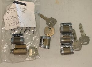Corbin Russwin Ic Core 1 Used 3 Exc Cylinders With 59a1 Keyway Control Key