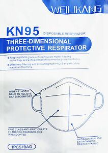 Weilikang Protective Kn95 Safety Face Masks Fda Certified Approved