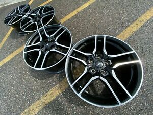 18 Ford Mustang Oem Factory Stock Wheels Rims 5x4 5 Gt Shelby Pony 40 Black