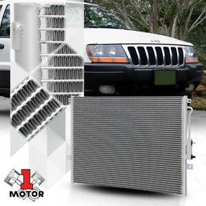 Aluminum Parallel Flow Ac A C Condenser For 99 03 Jeep Grand Cherokee 4 0 4 7