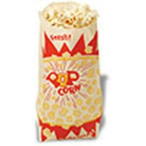 Paper Popcorn Bags 1 5 Ounce