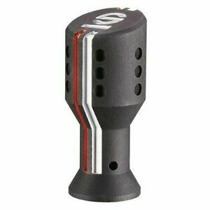 Sparco 03736ao Settanta Shift Knob Black With Orange And White Accents
