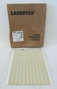 Brady Lat 1 652 10 Lasertab Series High Temperature Polyimide Labels 12 Pack