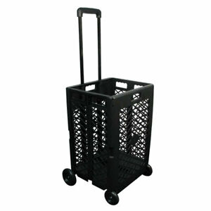 Olympia Tools 85 404 Pack N Roll Portable Folding Mesh Rolling Storage Cart