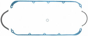 Fel Pro 1823 Oil Pan Gasket Of Steel Cnc Bow Tie Fits Small Block Chevy