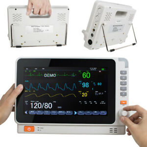 Dental Medical Patient Monitor Icu Ccu Vital Sign Multi Parameter Ecg Monitoring