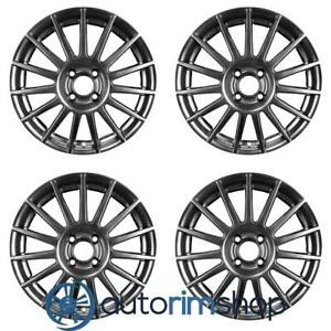 Ford Focus 2003 2004 17 Oem Wheels Rims Full Set W out Tpms Slot