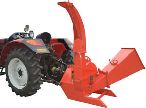 New Pto Tractor Driven 3 Point Bx62s Wood Chipper Shredder 6 5 X 10 Capacity