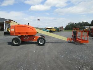 Jlg 400s Boom Lift Used 4x4 Diesel 46 Work Height