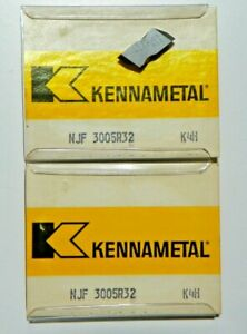 10 New Kennametal Njf 3005r32 K4h Carbide Inserts O097s