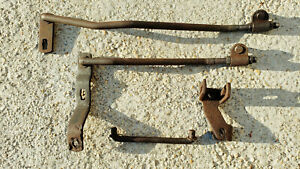 Rare Muncie 3 speed Linkage Rods Levers Hurst Shifter 1970 72 Gto Buick Olds