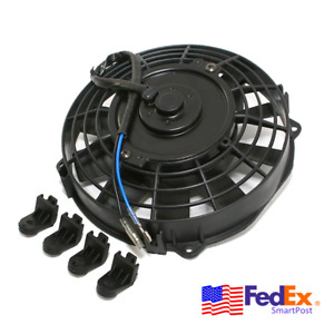 8 80w Electric Cooling Fan Engine Radiator Oil Cooler 12v Universal Car Truck 1
