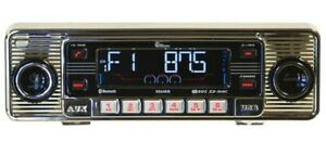 Classic Stereo Radio Mercedes Becker Style Am Fm Cd Usb Ipod Mp3 Din Size 2 By 7