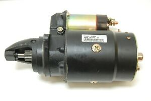 12 Volt Starter 4162n Factory Remanufactured Delco 10mt