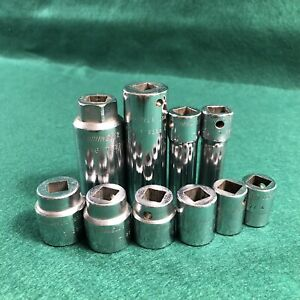 10 Cornwell Tools Sockets See All Pictures For Sizes