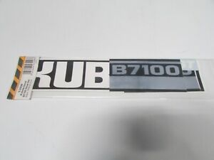 Tractor Decal Set To Fit Kubota B7100