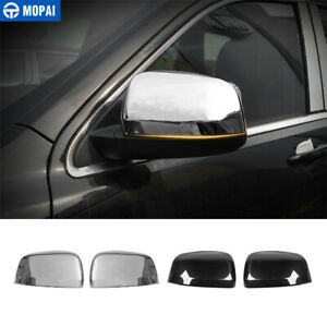 2x Car Rearview Mirror Decoration Cover For Jeep Grand Cherokee 11 Accessories