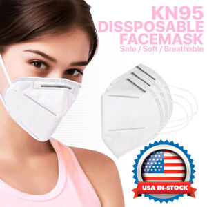Kn95 Face Mask Protective Respirator Cover Air Filter Safety Disposable K n95