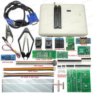 Rt809h Emmc nand Flash Usb Universal Bios Programmer 12 Adapters With Cabels