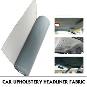 Car Roof Lining Headliner Cloth Foam Backing Remedy Dirty Torn Sagging 68 X60
