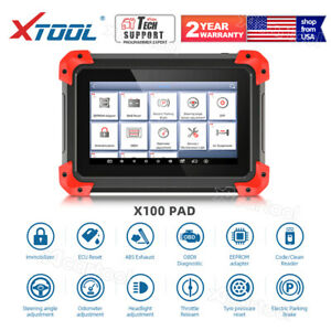 Xtool X 100 Pad Tablet Programmer Obd2 Diagnosis Od0meter Correction With Eeprom