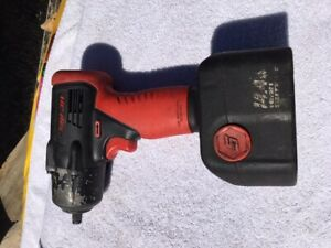 Snap On Ct4410 14 4v 3 8 Drive Cordless Impact Wrench Battery And Charger
