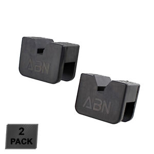 Abn Rubber Slotted Jack Stand Pads Pinch Weld Jack Adapter 2 Pack 2 To 3 Ton
