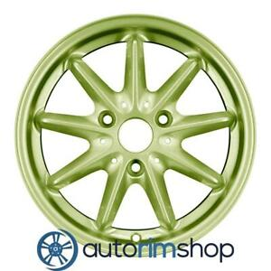 Smart Car Brabus Passion Other 2008 2017 15 Oem Staggered Wheels Rims Set Green