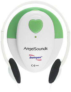 Angelsounds Fetal Doppler Jpd 100s Baby Heart Monitor Fda Approved Usa Green