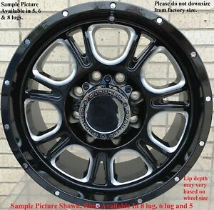 4 Wheels For 17 Inch Dodge Ram 1500 2007 2008 2009 2010 2011 2012 Rims 1830