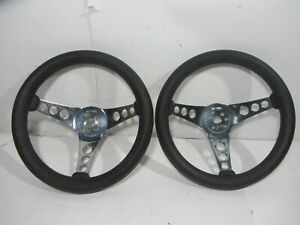 2 Vintage Superior Performance Products The 500 12 Inch Steering Wheel