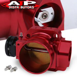 70mm D series Performance Upgrade Red Throttle Body Billet Aluminum Ef Eg Ek Jdm