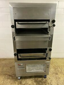 Ln Southbend Gas Steak Broiler Double Stack Model 270d 4 Tested