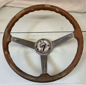 Vintage Alpha Romeo Personal 15 25 Wood Steering Wheel