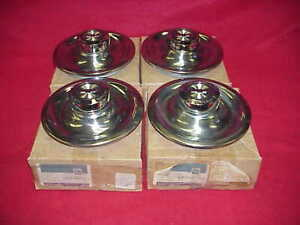 Nos Chevy Rally Wheel 67 1967 Corvette Camaro Chevelle Center Caps Rim Nova