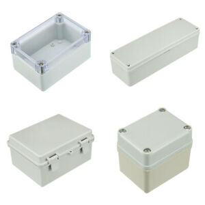 Kinds Of Sizes Electronic Plastic Diy Junction Box Enclosure Project Case Gray