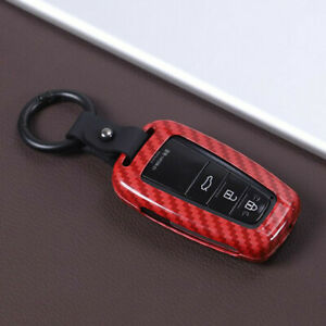 Fit For 2019 2020 Toyota Rav4 Red Keyless Entry Remote Control Car Key Shell 1p